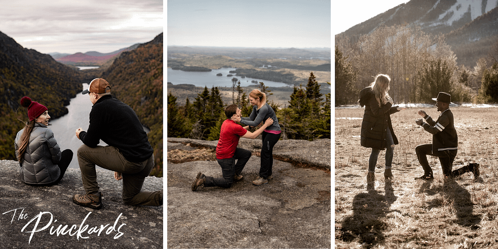 How and where to propose in the Adirondacks of upstate New York