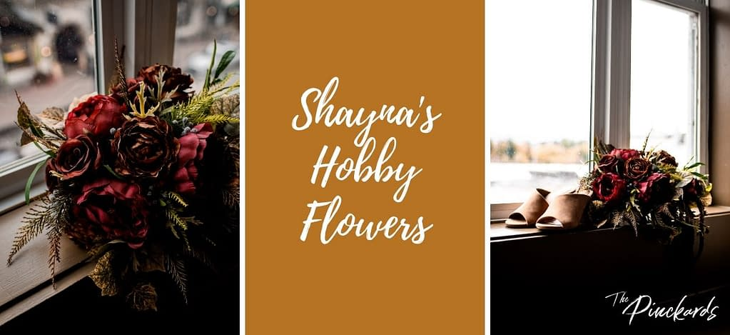 Shayna's Hobby Flowers is an Etsy shop that delivers wedding flowers to the ADKs