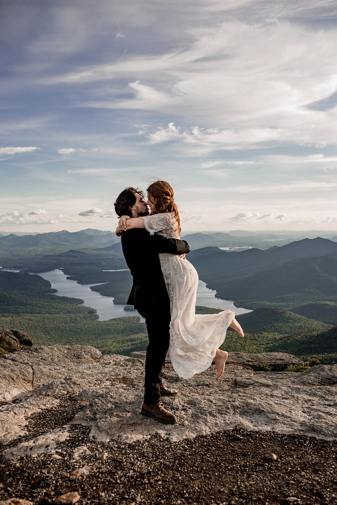 Elopement on Whiteface Mountain in Wilmington, New York
