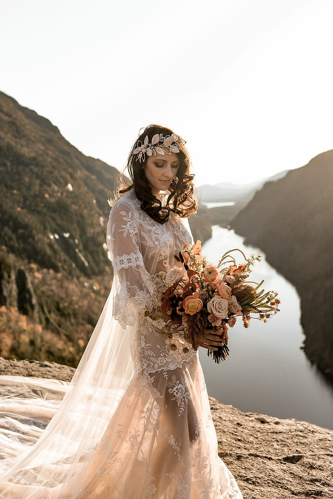 Wedding dress by Something Bleu Bridal