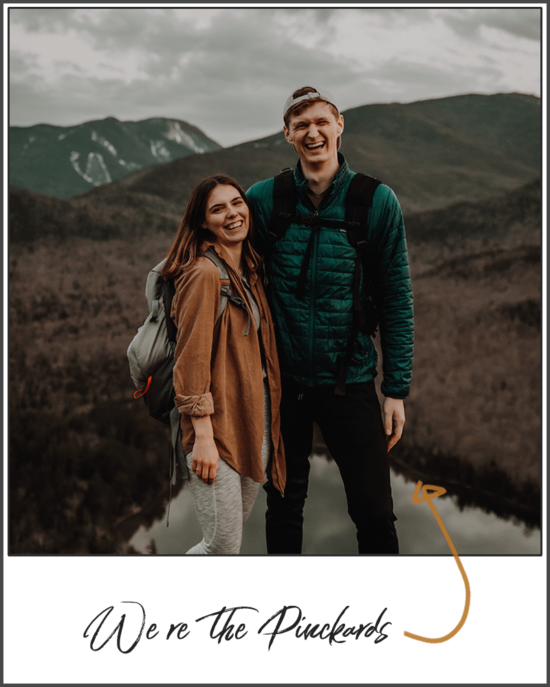 The Pinckards, professional elopement photographers in the Adirondacks of upstate New York on Mount Jo