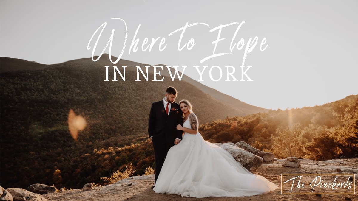 Best Places in New York State to Elope
