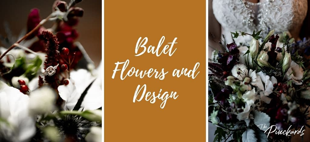 Balet Flowers and Design in Saratoga, New York is a great option for your wedding flowers, bouquet, etc.