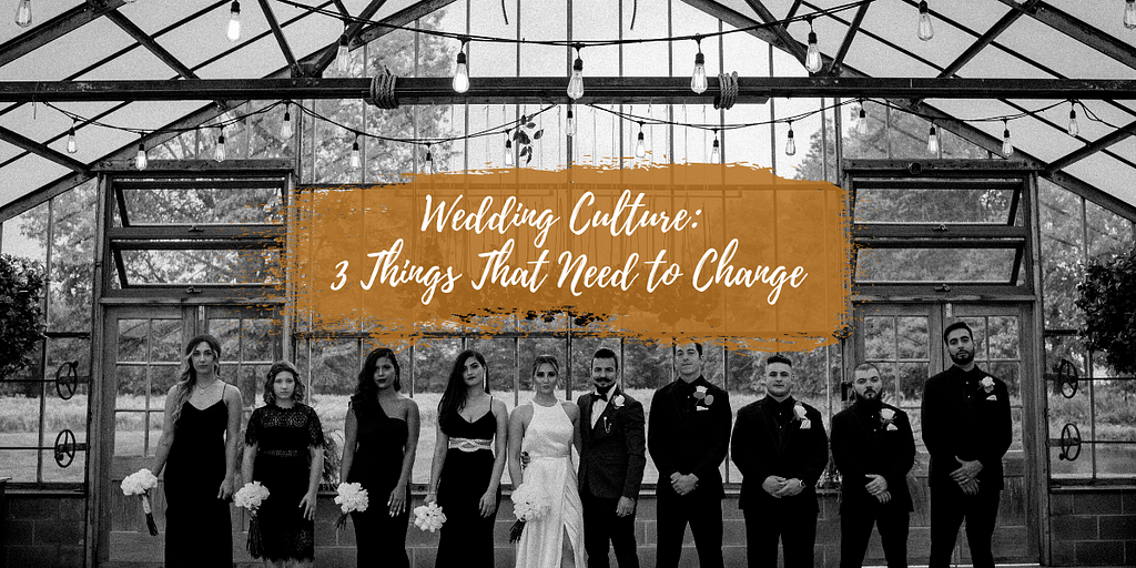 3 things that need to change about weddings to make them less stressful