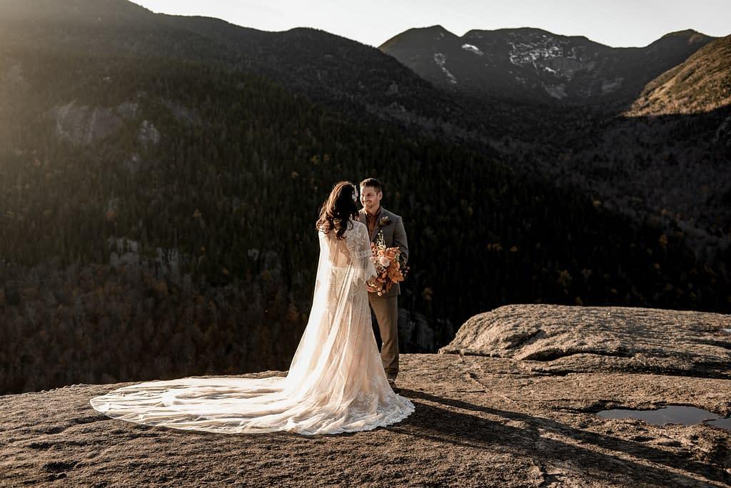 Wedding and Elopement photographers in the Adirondacks near Lake Placid