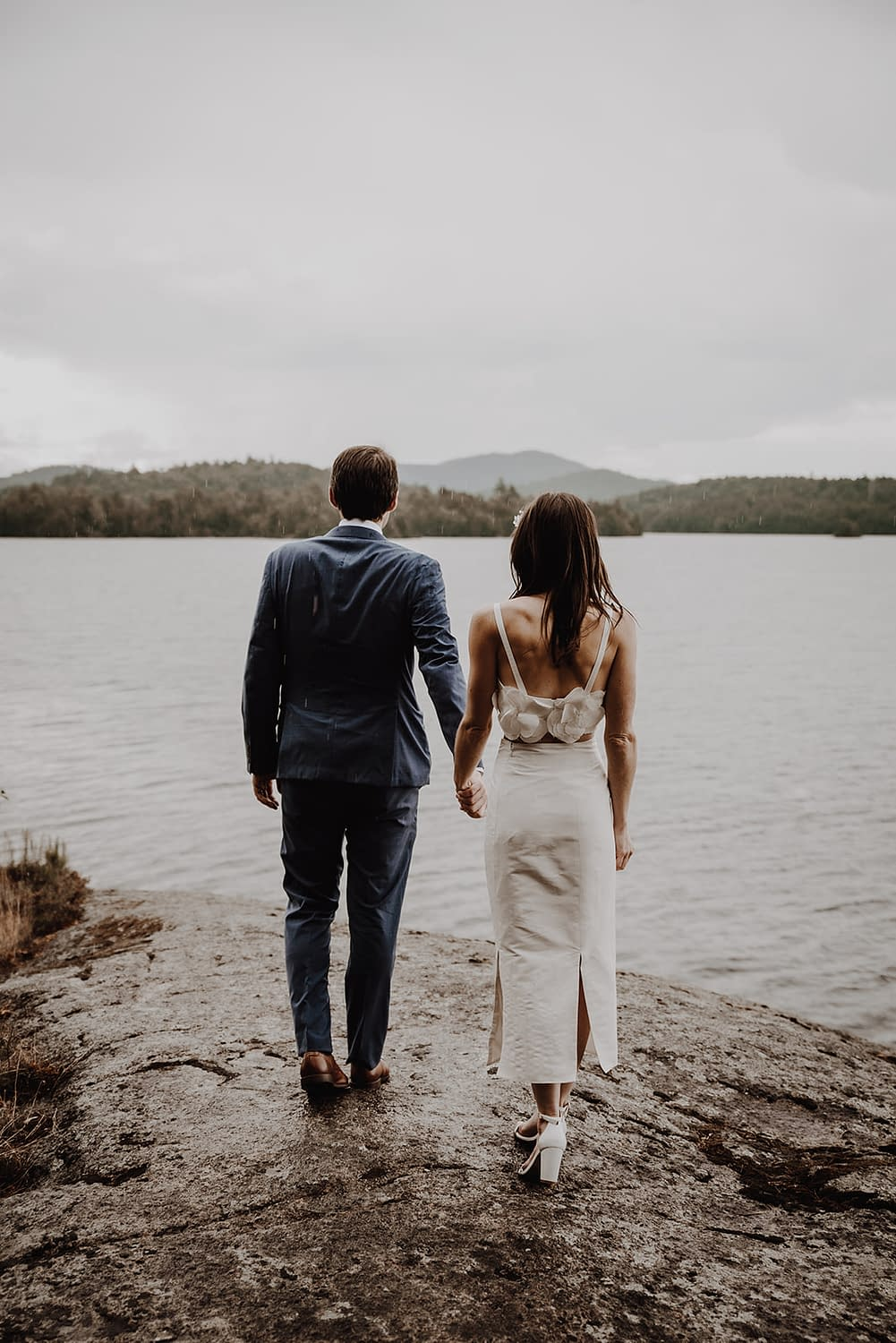 Elopement photography as part of all-inclusive Adirondack elopement package