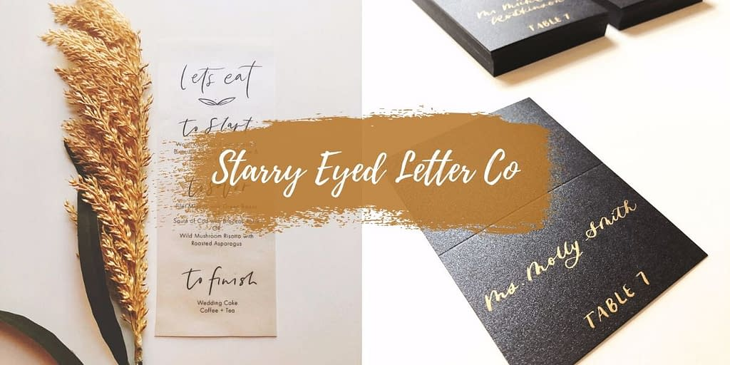 Wedding Calligraphy in the Adirondacks - Starry Eyed Letter Co.