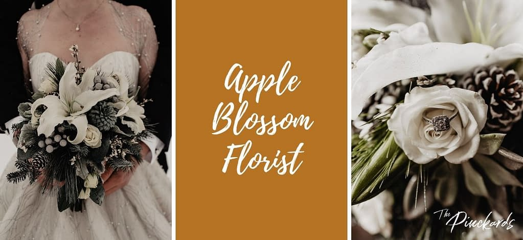 Apple Blossom Florist in Peru, NY is a local wedding floral designer