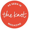 Wedding photography as seen on the Knot magazine