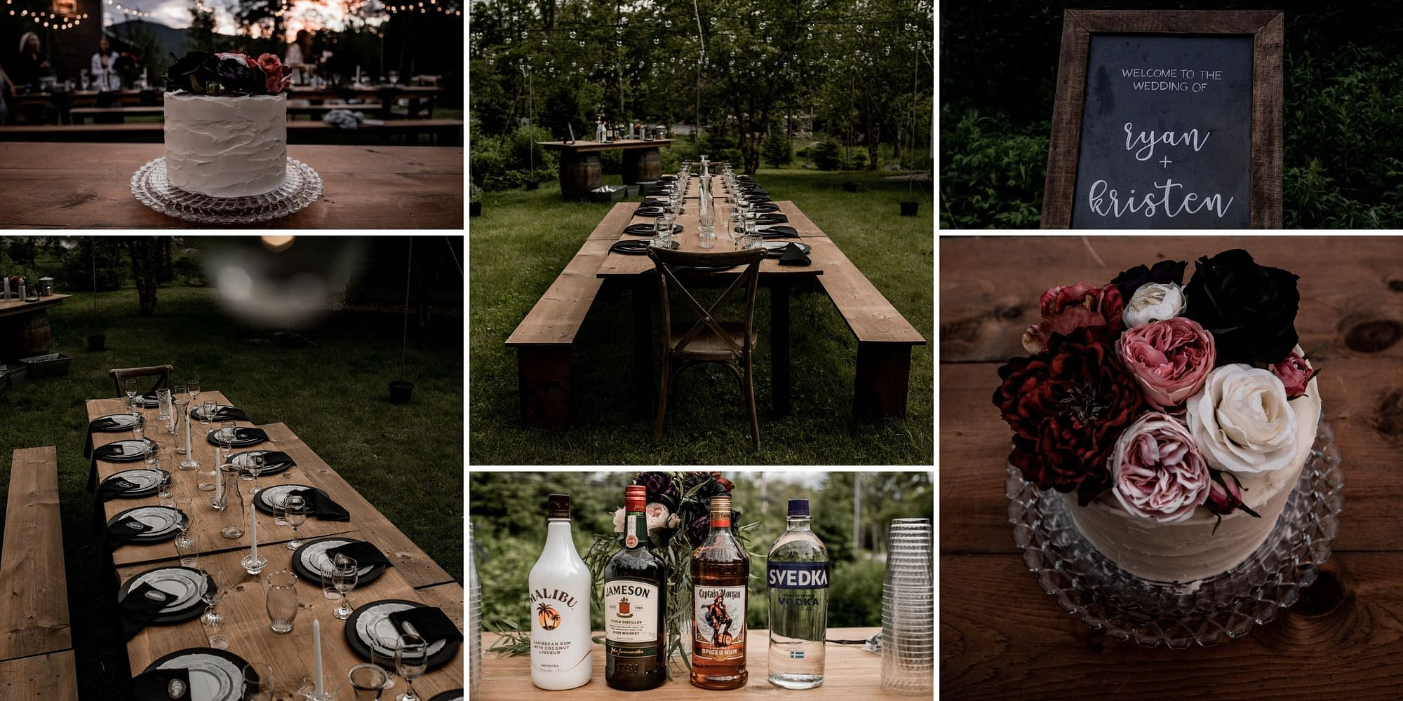 Elopement in the Adirondacks, detail photos in Wilmington, NY