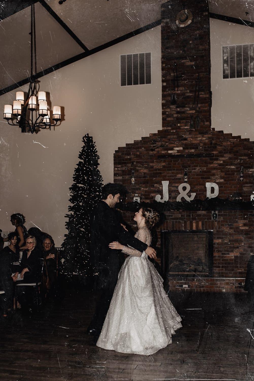 Wedding reception photos in Lake Placid NY