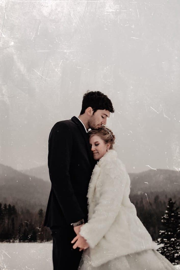 Wedding photos in Lake Placid